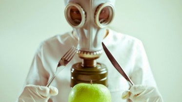 Gmo-Meal-Apple-Gasmask-Hazmat